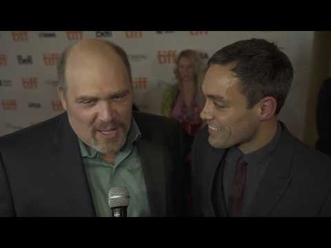Glenn Fleshler and Alex Hassell at the TIFF Red Carpet Premiere of