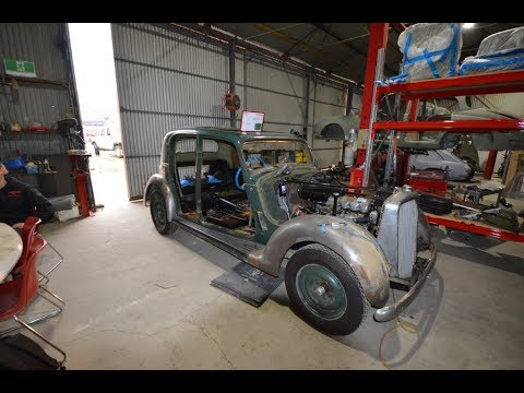 Greg's 1949 P3 Rover restoration, body  repair chapter 11