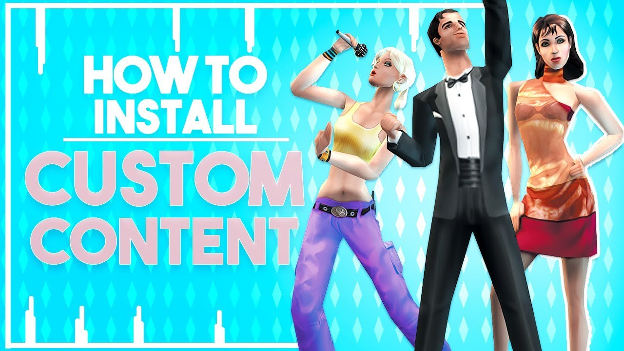 how to download sims custom content