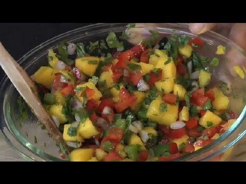 Mango Cilantro Salad : Unique Recipes