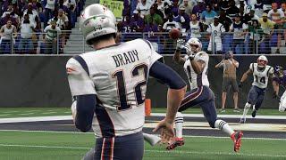 NFL Sunday Night Football 11/3 New England Patriots vs Baltimore Ravens - NFL Week 9 (Madden 20)