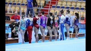 Чемпионат России 2018 - вольные упражнения - женщины