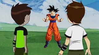 Goku vs Ben 10 Reboot and Ben 10 Classic