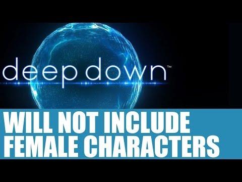 Deep Down News - Will Not Include Playable Female Characters, Reveals Kazunori Sugiura - Info