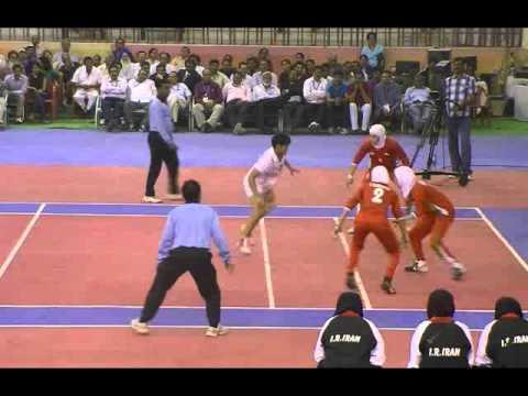 2012 여자카바디월드컵결승 Kabaddi Women Worldcup Final - INDIA VS IRAN