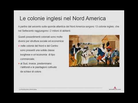 La Rivoluzione Americana 1   12th Grade