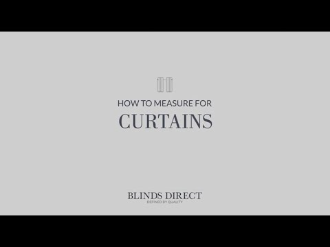 How to Measure for Curtains | Blinds Direct