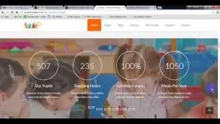 Fable - Children Kindergarten WordPress Theme Preview