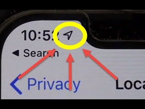 Meaning Of Arrow Icon On Status Bar On IPhone IOS 13 | Location Services / GPS