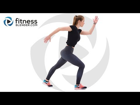 Easy Pilates and Cardio Workout with Relaxing Cool Down Active Recovery Workout