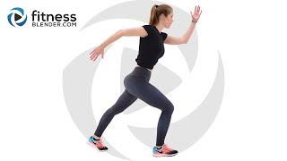 Easy Pilates and Cardio Workout with Relaxing Cool Down - Active Recovery Workout