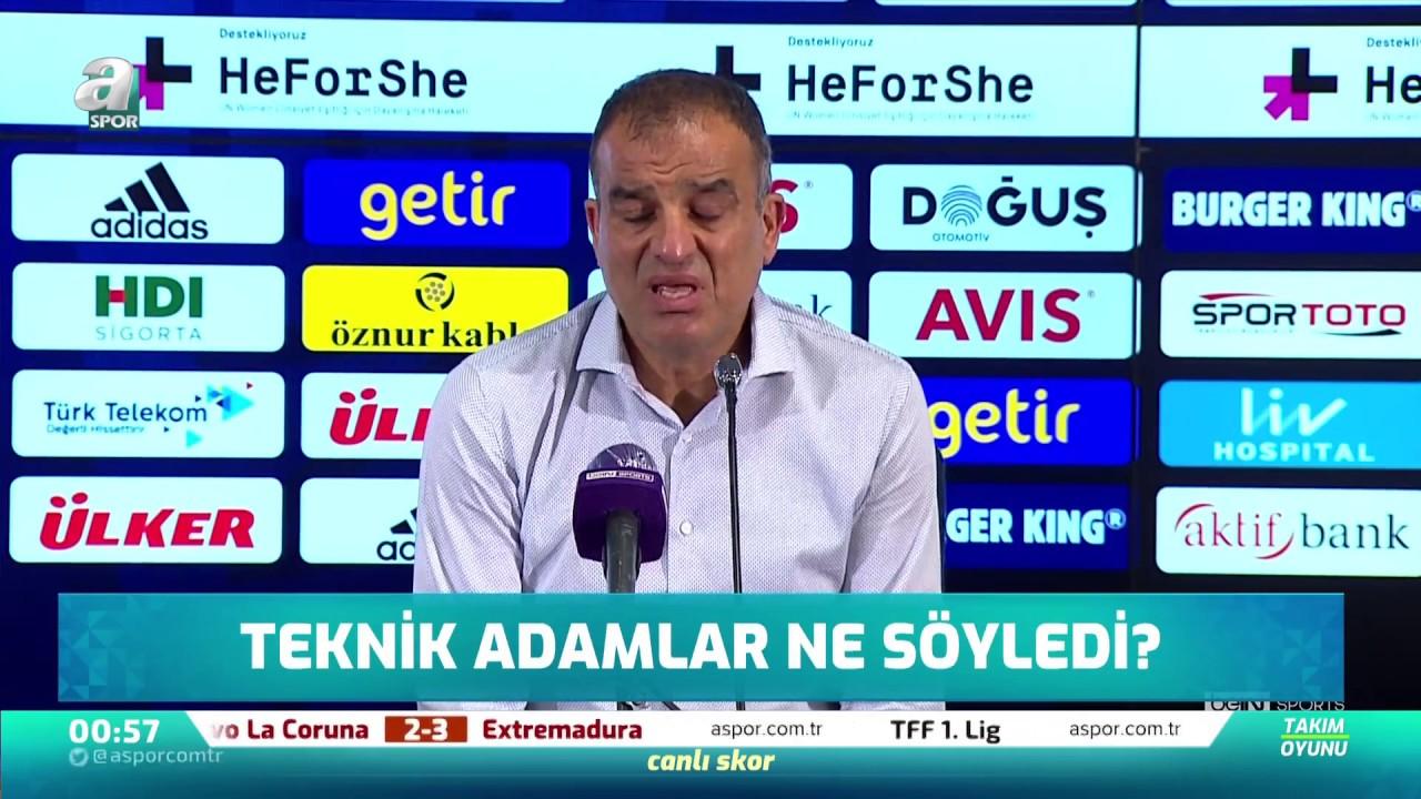 """Tahir Karapınar: """"2. Golü Bulabilsek Çok Farklı Olabilirdi"""" / Fenerbahçe 1-2 Sivasspor Maç Sonu"""