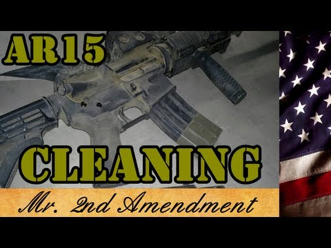Cleaning the AR15