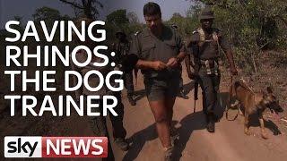 Rhino Wars: Meet The Dog Trainer