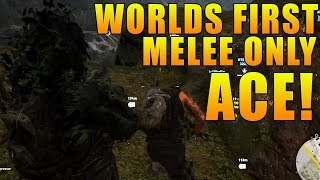 WORLDS FIRST PS4 MELEE ONLY ACE IN GHOST RECON WILDLANDS PVP! (Killing Whole Team With Melee Only)