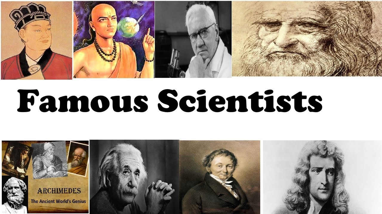 Top 10 famous scientists and their inventions - YouTube