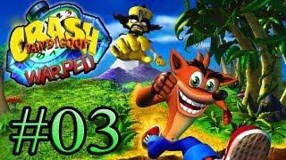 Let's Play : Crash Bandicoot Warped - Parte 3