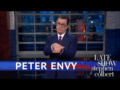 Stephen Colbert recaps Mayor Pete Buttigieg's Fox News town hall, mocks Trump's evident jealousy