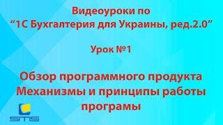 Обучение по программе 1С Бухгалтерия для Украины, редакция 2.0. Урок 1