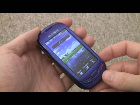 Samsung S7550 Blue Earth solar phone - part 2 of 2