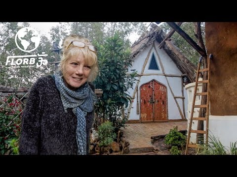 Woman Creates Tiny House Cottage And Eco Village From Adobe Brick In Morocco