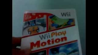 unbox wii play motion