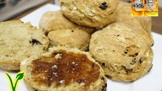 SCONES/BOLLOS DE CRANBERRIES
