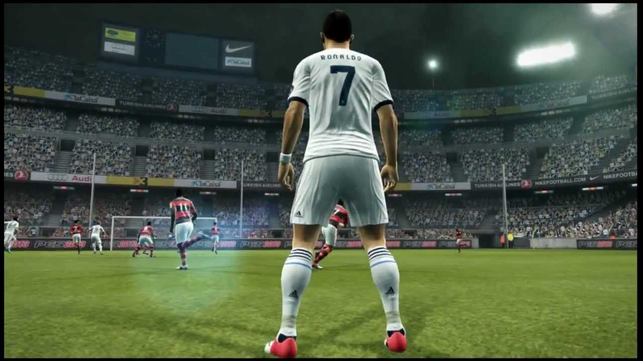 pes 2013 demo cristiano ronaldo freekick 40 yard hd