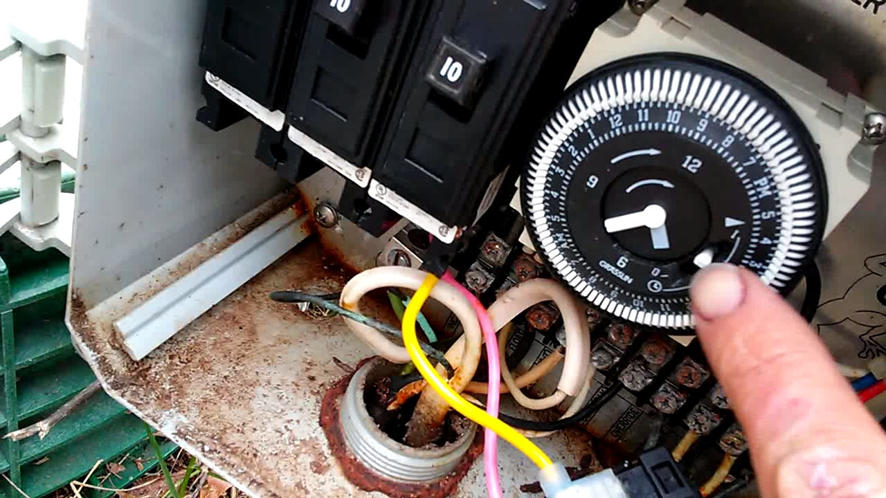 how to manually turn on your aerobic septic system youtube just ripped the wiring out of my septic system [ 1280 x 720 Pixel ]