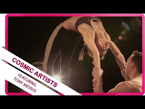 AcroSportTV presents Cosmic Artists featuring Tony Mevius