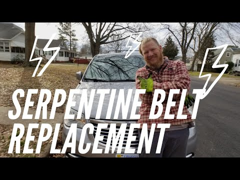 How to Replace the Serpentine Belt in a 2014 Chrysler Town and Country