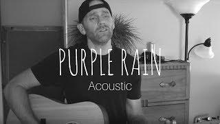 Prince Purple Rain - Acoustic (Cover by Derek Cate)