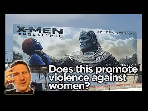 Does X-Men Poster Promote Violence Against Women? - John Campea