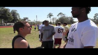 New England Patriot Gary Guyton host Youth Football Camp in his hometown