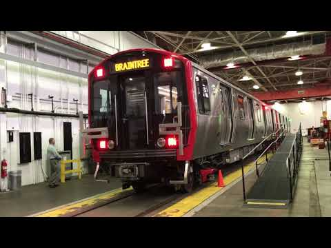 Check out the new Red Line cars