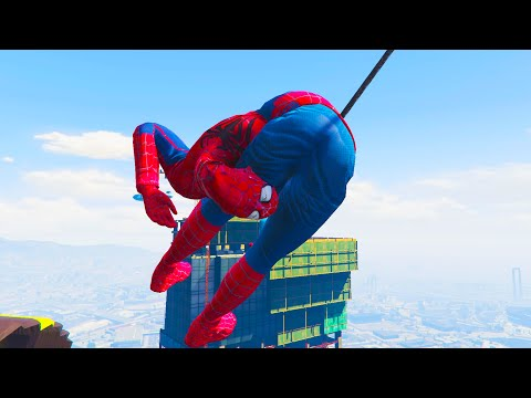 SPIDERMAN PARKOUR IN GTA 5 #16 (Gta 5 Parkour & Funny Moments)
