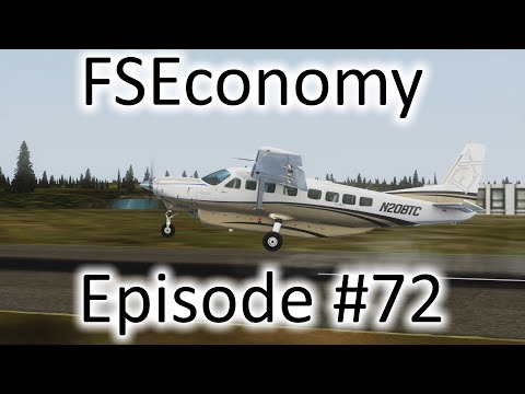 FSX | FSEconomy Ep. #72 - Trying to Position the Caravan | C337H