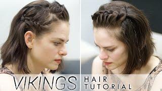 Vikings Hair Tutorial for Short Hair - featuring Amy Bailey