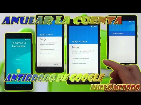 Anular La Cuenta De Antirrobo De Google | Facil!,Rapido! Y Sin Necesidad De Conexion A Internet!