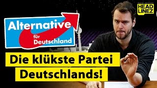 AfD: Die klükste Partei Deutschlands! | HEADLINEZ