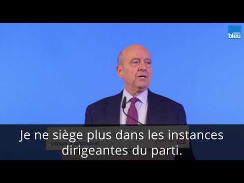 """Alain Juppé : """"Je n'ai pas renouvelé ma cotisation"""""""
