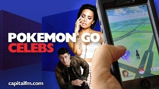 The Celebs That Are Playing Pokemon Go!