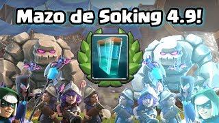 MAZO CARO DE SOKING CON CLONACIÓN. Desafío de Clonación | Clash Royale con TheAlvaro845 | Español thumbnail