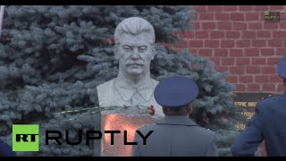 Russia: Stalin supporters commemorate former Soviet leader on 135th birthday