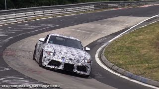 2018 Toyota Supra  Spied Testing On The Nurburgring, Nordschleife!