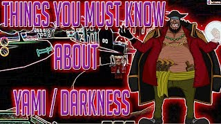 THINGS YOU MUST KNOW | STEVE'S ONE PIECE | Roblox | YAMI YAMI DEVIL FRUIT