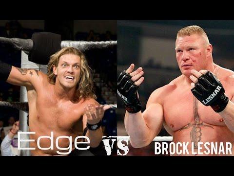 Brock Lesnar  vs  Edge   WWE wwe summerslam  full show HD thumbnail