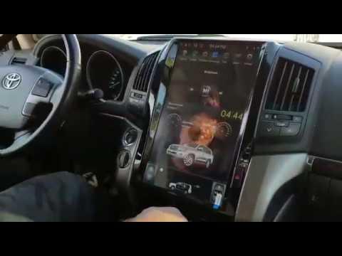 Магнитола Тойота Лэнд Крузер 200 Тесла, отзыв покупателя Bumm-Shop