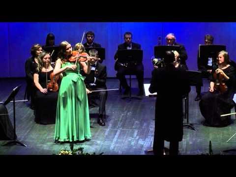Mozart - Violin Concerto No.3 - Solo Cadenza by Maria Lazareva