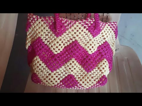 Zigzag basket making easy clear tutorial part 1